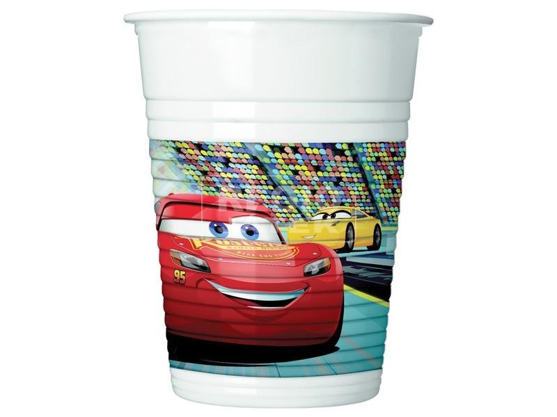 Verdák 3 műanyag pohár 200 ml 8 db /cs