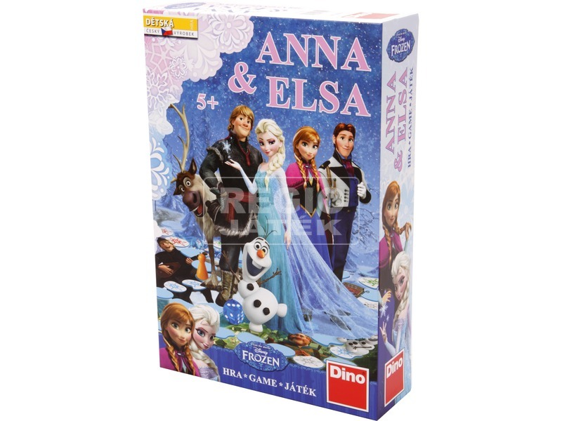 Jégvarázs Anna és Elsa társasjáték