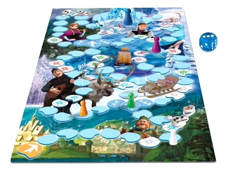 kép nagyítása Jégvarázs Anna és Elsa társasjáték