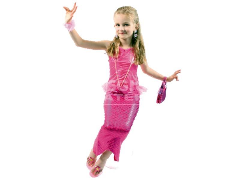 kép nagyítása Sellő jelmez - rózsaszín, 3-6 éves