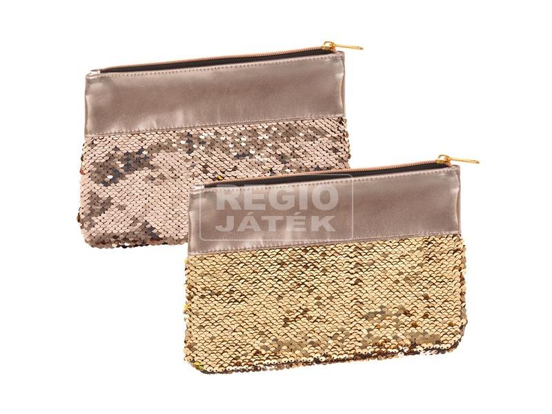 Flitteres pénztárca - aranyszínű