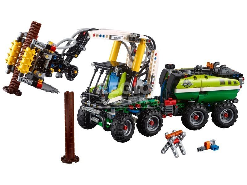 kép nagyítása LEGO® Technic Erdei munkagép 42080