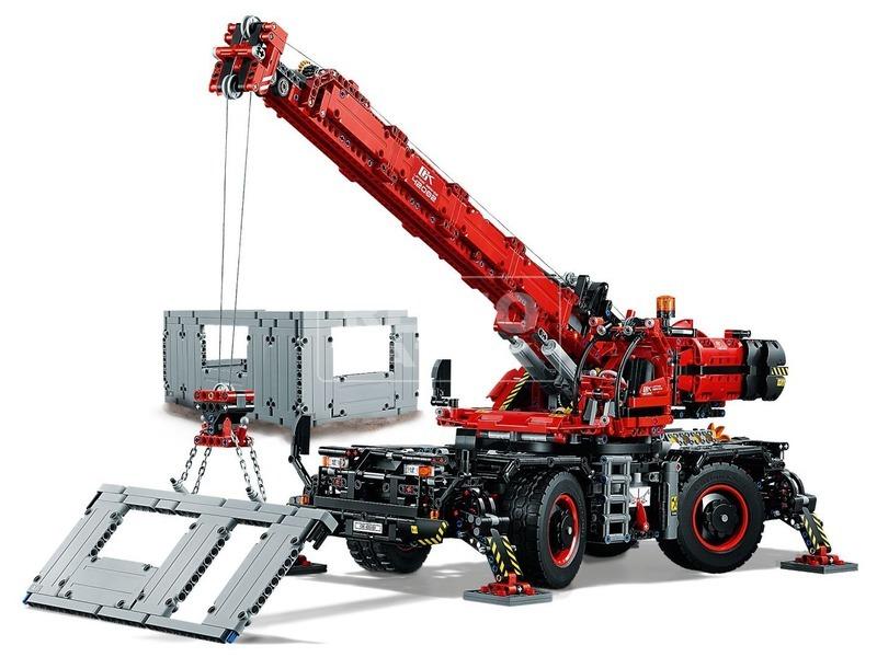 kép nagyítása LEGO® Technic Nehéz terep daru 42082