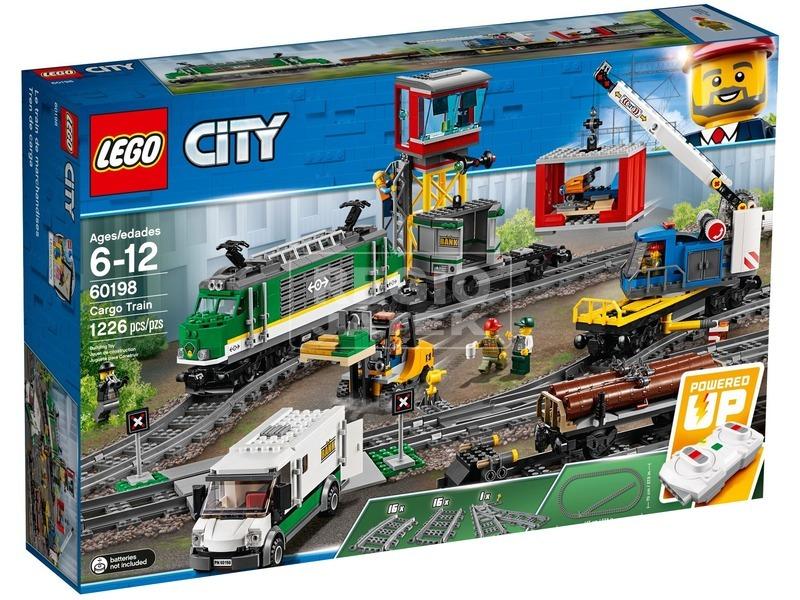 LEGO City Trains 60198 Tehervonat