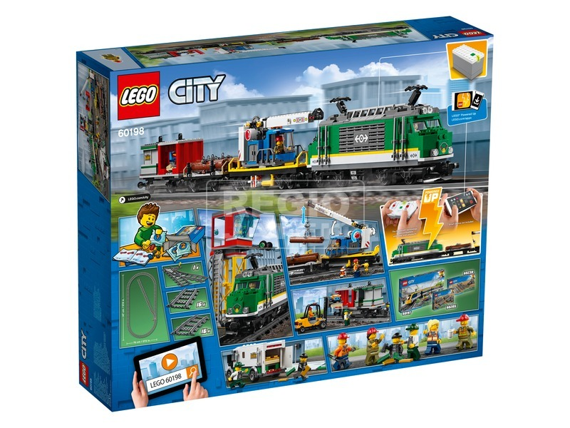 kép nagyítása LEGO City Trains 60198 Tehervonat