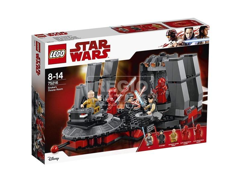LEGO® Star Wars Snoke trónterme 75216