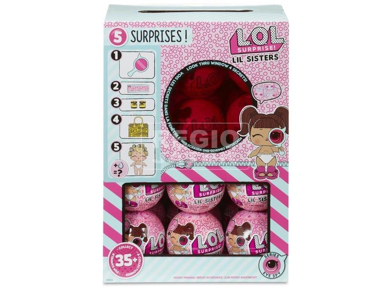 kép nagyítása LOL Surprise Lil Sister baba golyóban - kicsi