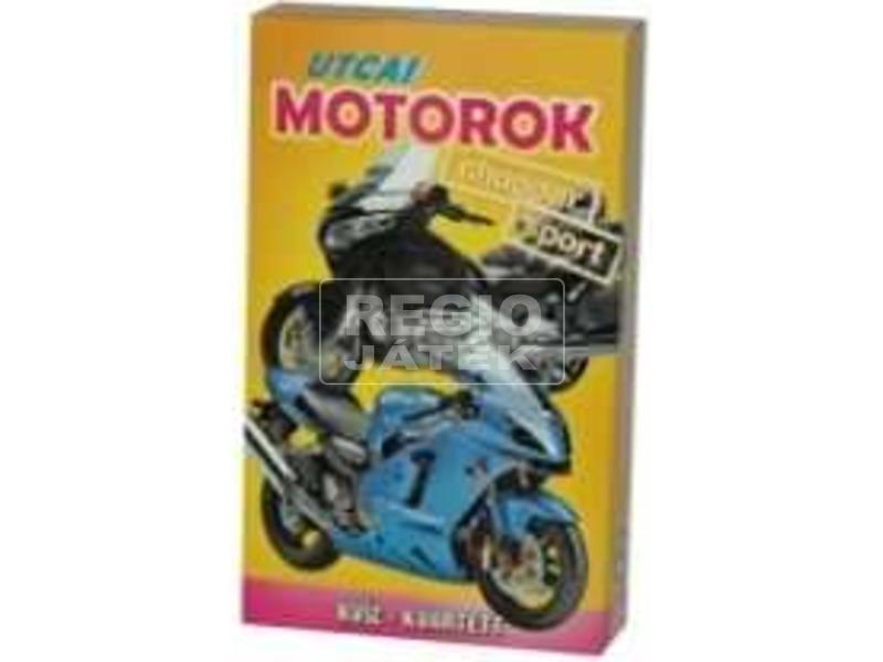 Utcai motorok kártya