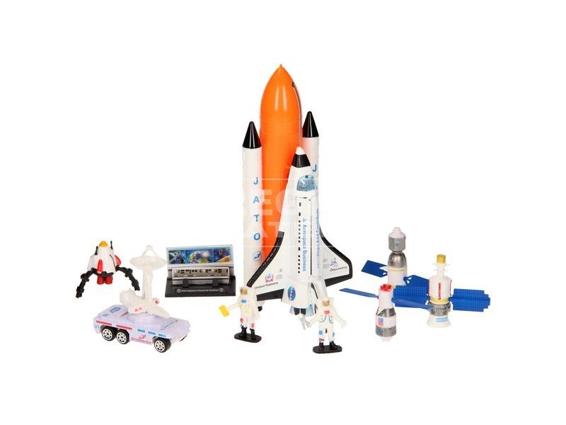 kép nagyítása Űrsikló játékkészlet figurákkal