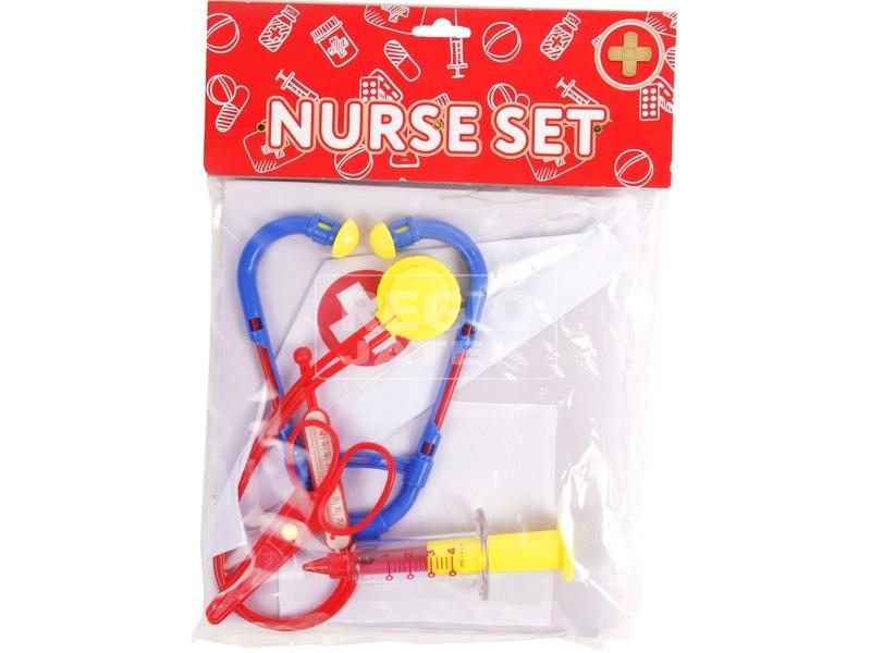 Nővér orvosi játékkészlet