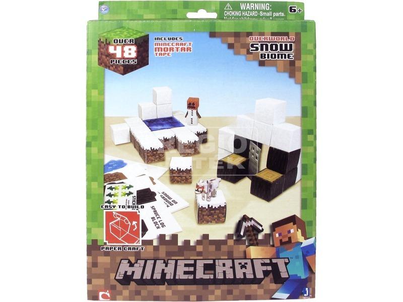 Minecraft havas táj készlet