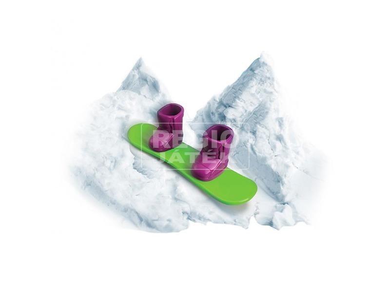 kép nagyítása Floof! Hópehely gyurma snowboard készlet