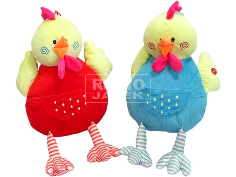 Csirke plüssfigura hanggal - többféle