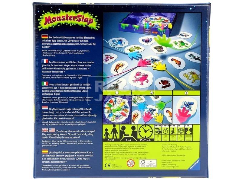 kép nagyítása Monster Slap - Szellemirtók társasjáték