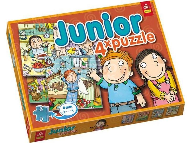 Trefl: Junior 4 az 1-ben Hundy Mandy puzzle