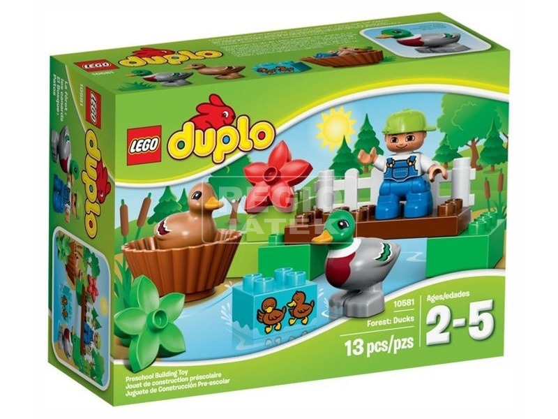 LEGO DUPLO Az erdő Kacsák 10581