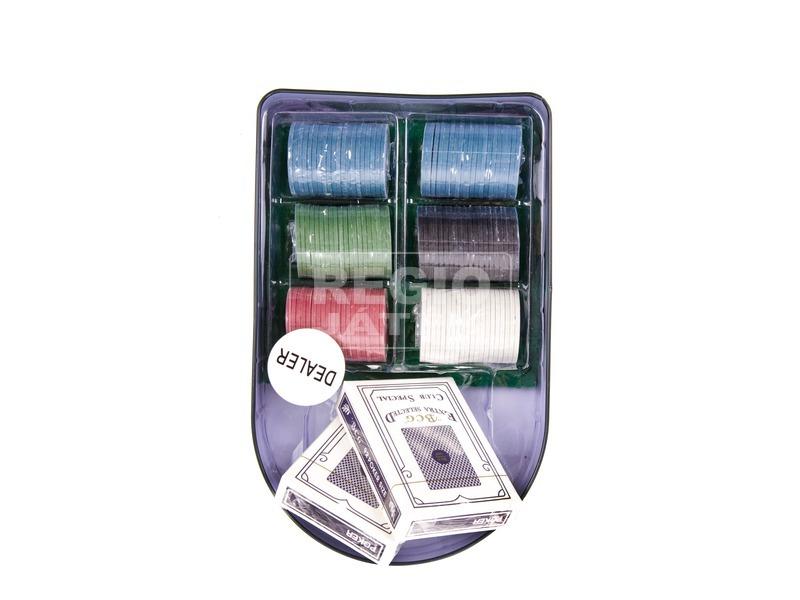 kép nagyítása Fémdobozos póker készlet