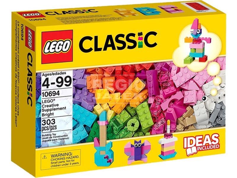 LEGO Classic Kreatív világos kiegészítők 10694