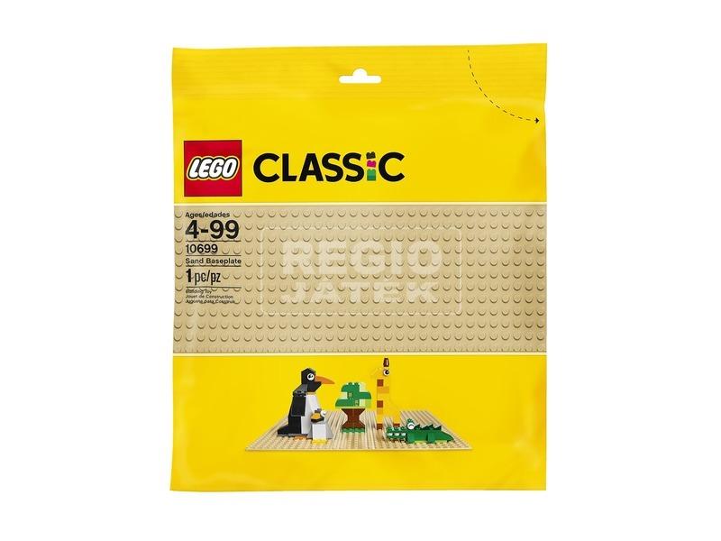 LEGO Classic Homokszínű alaplap 10699