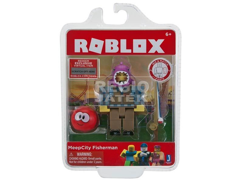 Roblox Meepcity horgász figura - 7 cm