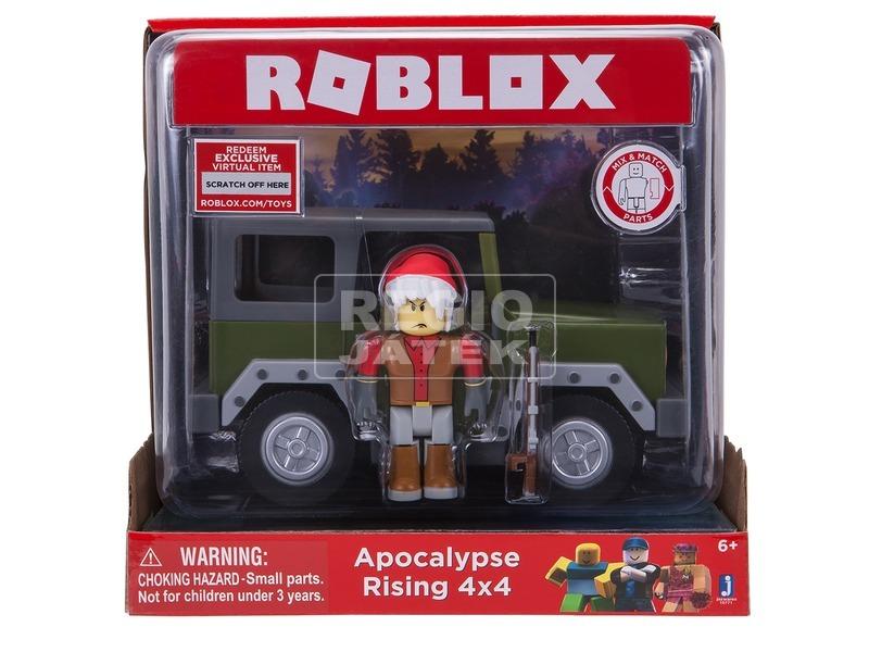 Roblox Apocalypse Rising 4x4 jármű figurával