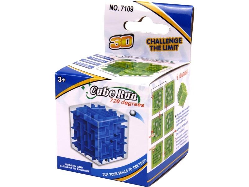 3D kocka labirintus - többféle