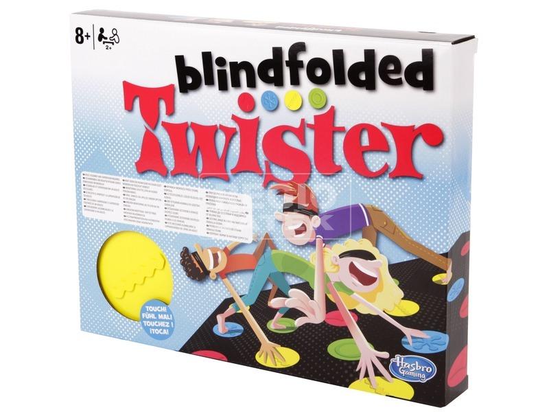 Twister bekötött szemmel társasjáték