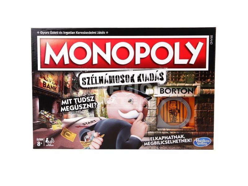 kép nagyítása Monopoly társasjáték - Szélhámosok kiadás