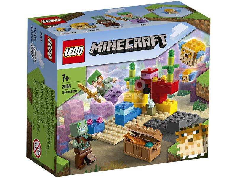 LEGO Minecraft 21164 A korallzátony