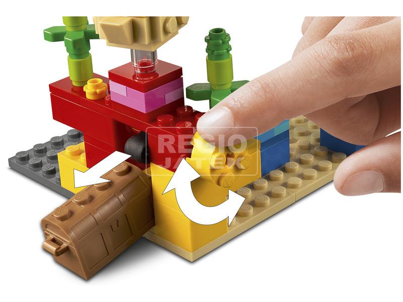 kép nagyítása LEGO Minecraft 21164 A korallzátony