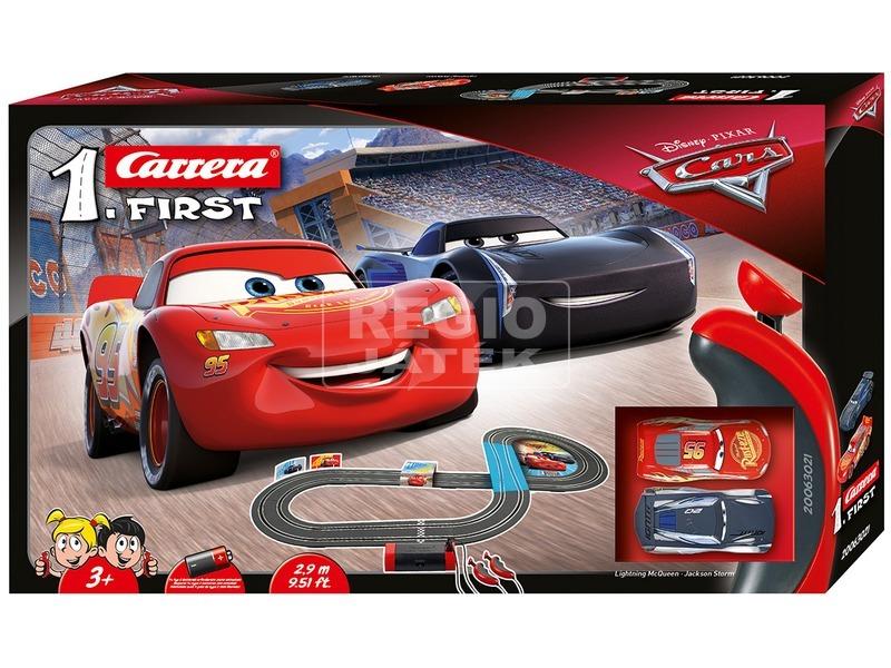 Carrera First Verdák 3 elemes versenypálya - 1:50