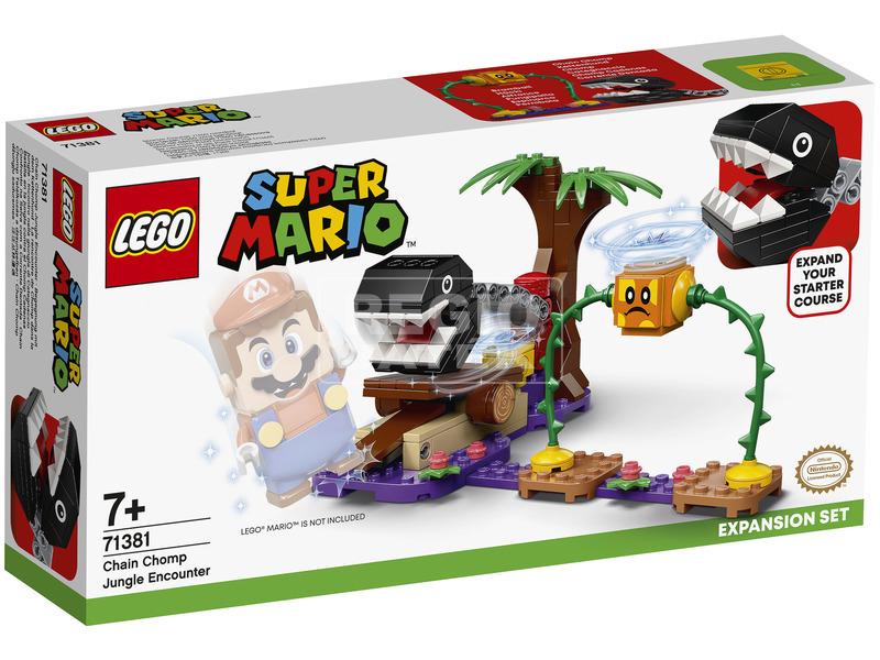 LEGO Super Mario 71381 Chain Chomp Találkozás a dzsungelben kie