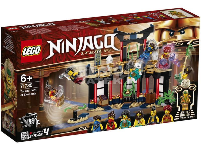 LEGO Ninjago 71735 Az elemek bajnoksága