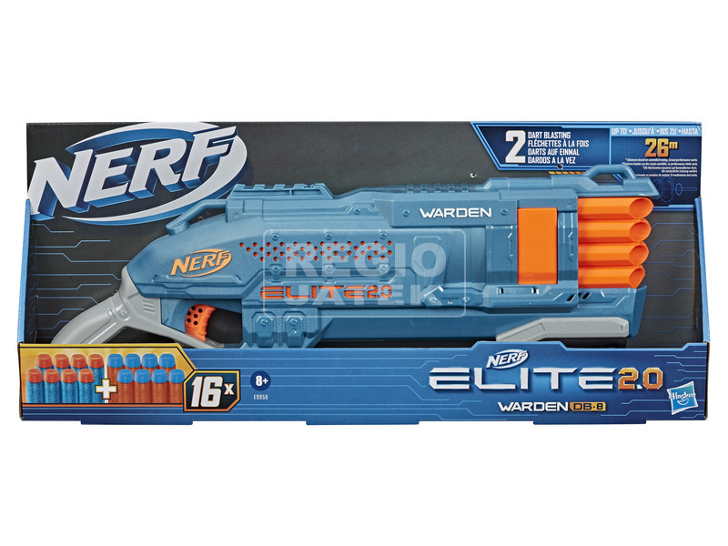 Nerf Elite 2. 0 Warden db-8 kilövő