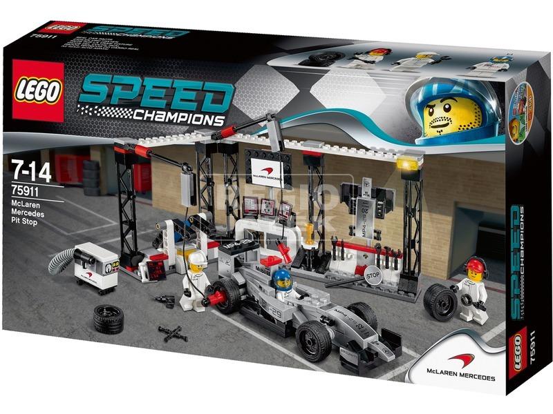 LEGO Speed Champions McLaren Mercedes box 75911