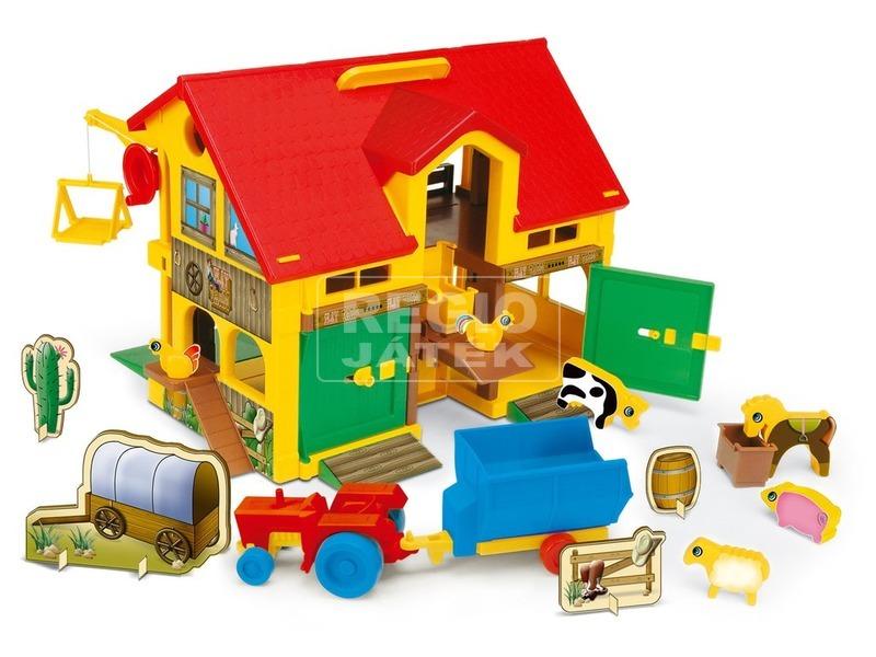 Wader 2 szintes farm ház kiegészítőkkel