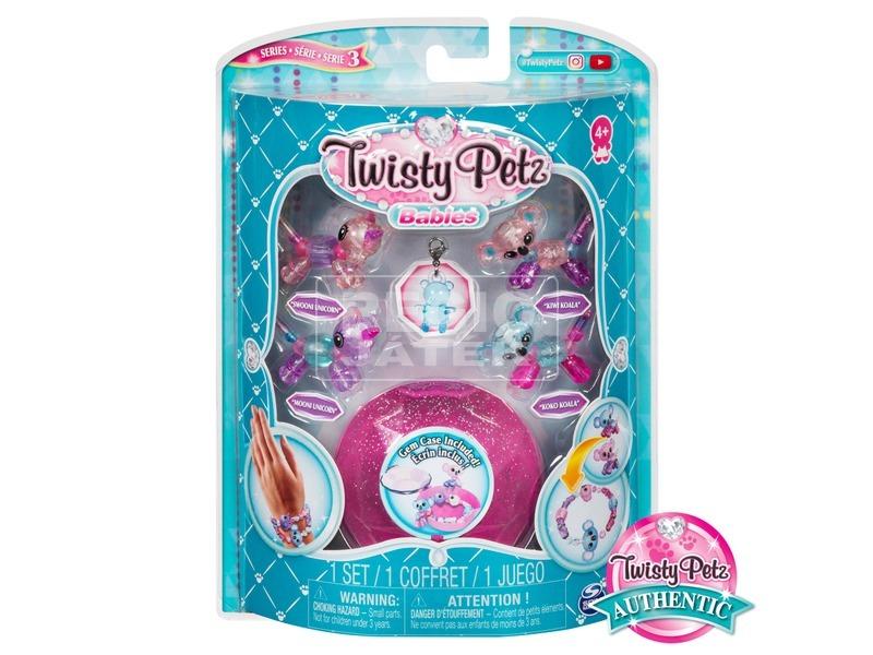 Twisty Petz kisállatos karkötő készlet - többféle