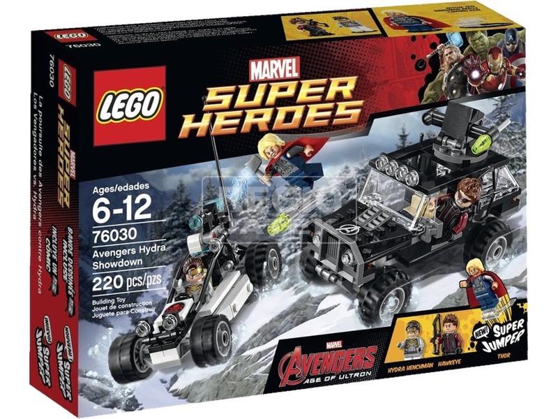 LEGO Super Heroes Bosszúállók Hidra erőpróbája 76030