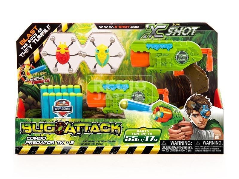 X-Shot Predator bogártámadás fegyver készlet