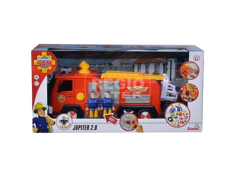 Sam a tűzoltó Jupiter 2. 0 tűzoltóautó figurákkal