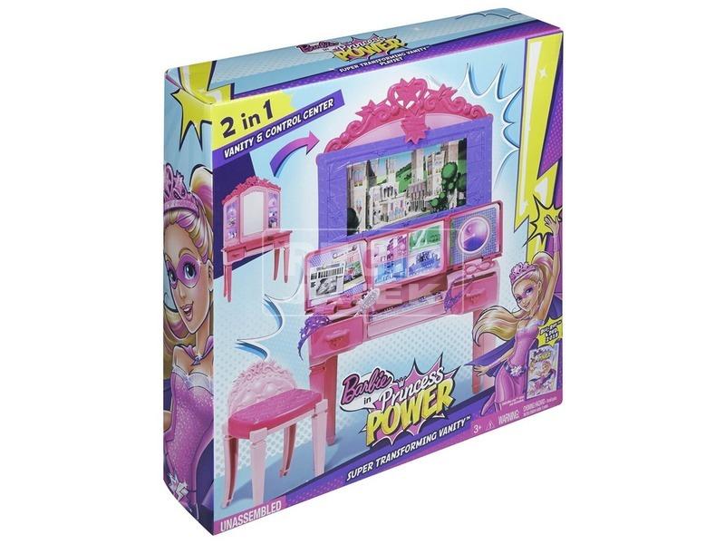 Barbie: Szuperhős hercegnő fésülködő készlet