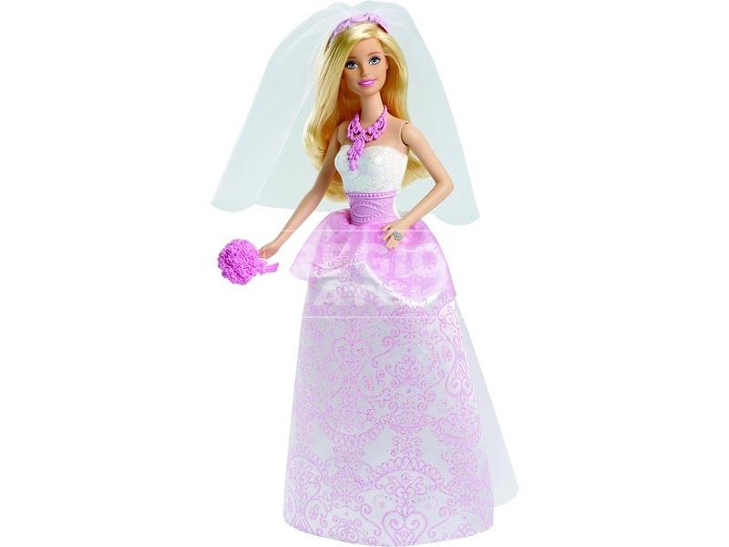 Barbie: Menyasszony baba - rózsaszín, 30 cm