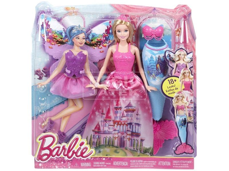 Barbie: Tündérmese hercegnő baba kiegészítőkkel