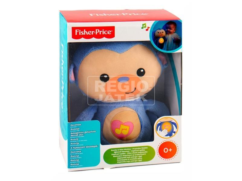 Fisher-Price altató majmocska plüssfigura