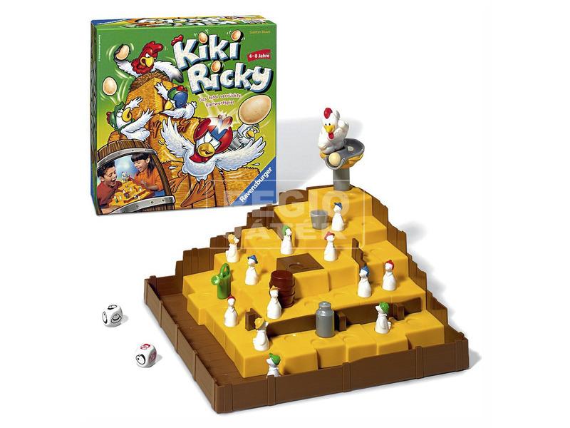 kép nagyítása Kiki Ricky társasjáték