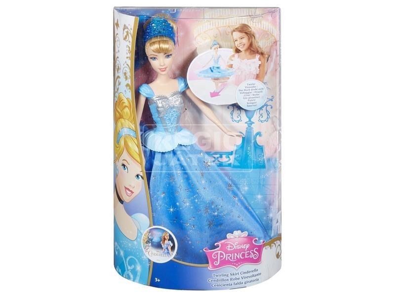Disney hercegnők: Hamupipőke pörgő szoknyával - 30 cm