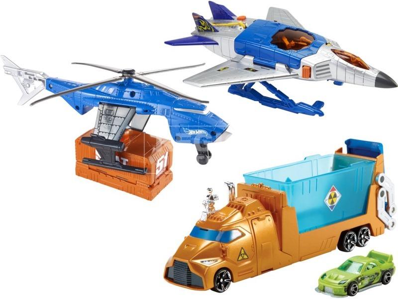 Hot Wheels repülőgép kisautóval - többféle