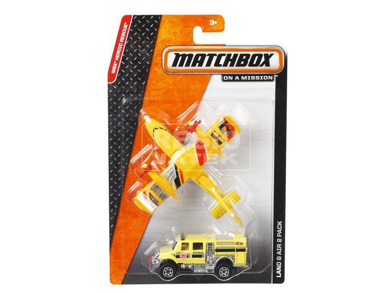 Matchbox repülő és autó készlet - többféle