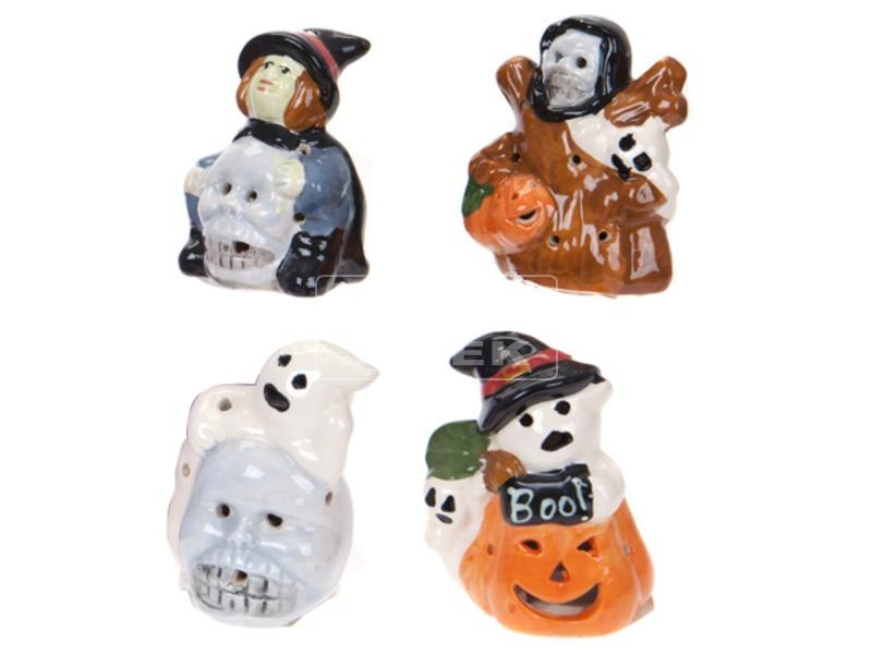 Halloween kerámia figura - többféle