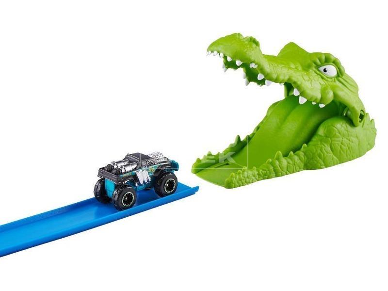 kép nagyítása Metal Machines krokodil autópálya készlet